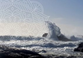 Stormy Seas and Huge Waves