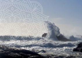 Stormy Seas and Huge Waves