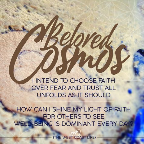 I Intend to Choose Faith over Fear and Trust