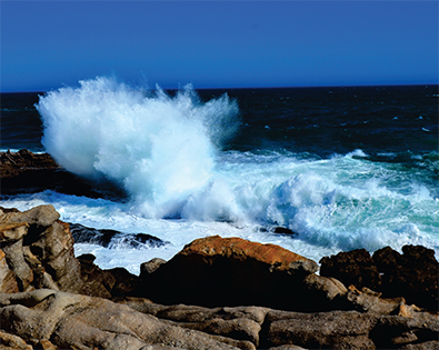 Strandfontein South Africa Waves