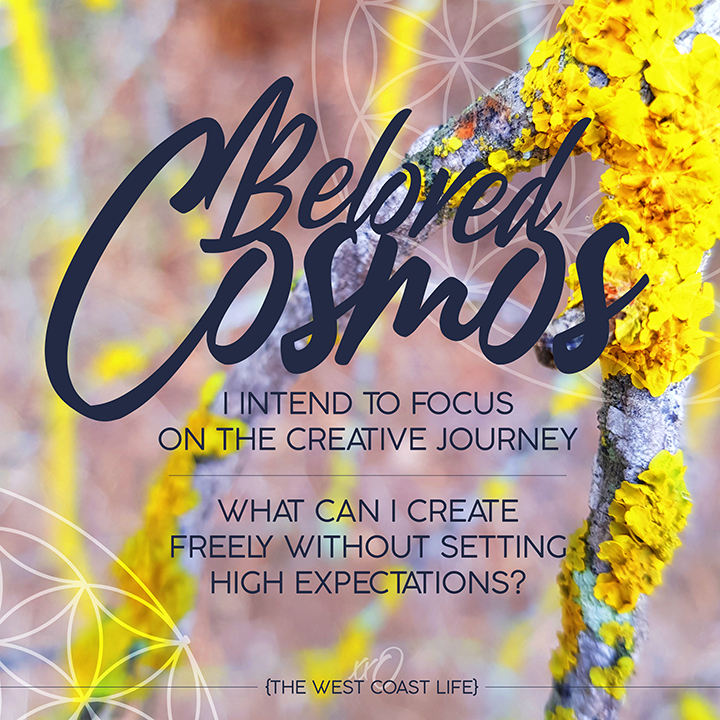 I Intend to Focus on the Creative Journey