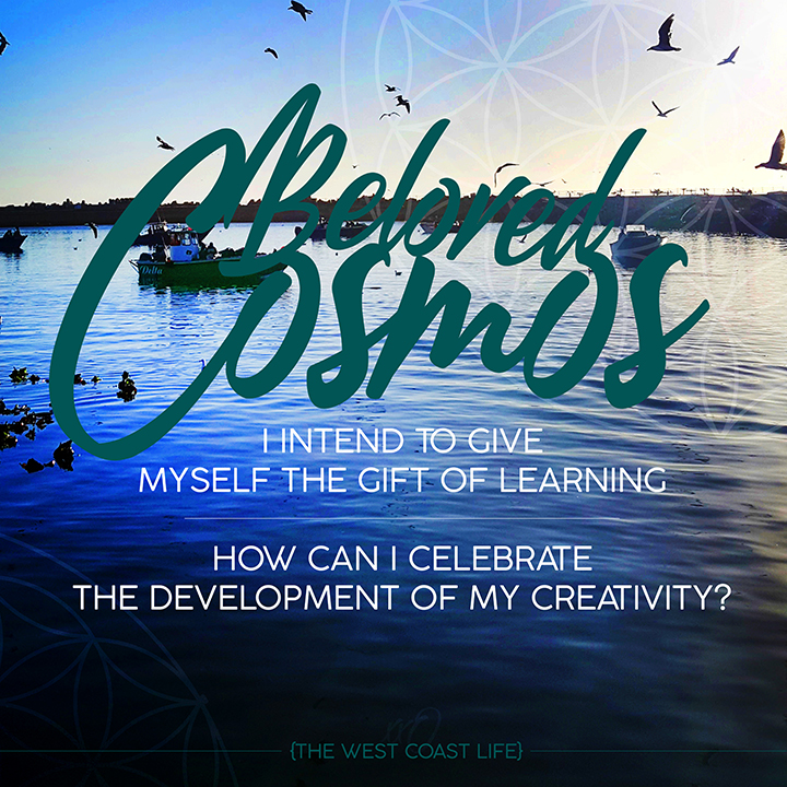 I Intend to Give Myself the Gift of Learning